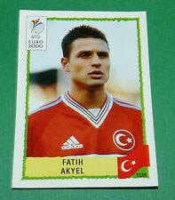 N°146 FATIH AKYEL TURQUIE TÜRKIYE PANINI FOOTBALL UEFA EURO 2000