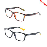 Blue Light Blocking Glasses Mens Womens Rectangular Computer Eyeglasses Stylish