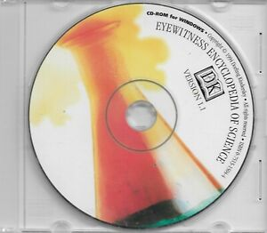 DK Eyewitness Encyclopedia Of Science, Software CD Rom, new condition.