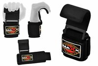 Maxx Pro Weight Lifting Training Gym Straps Hook bar Wrist Support Lift Gloves Y