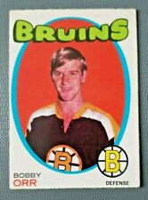 1971-72 O-Pee-Chee #100 Bobby Orr Boston Bruins**FREE COMBINED SHIPPING**R2954