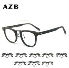 Unisex Acetate Imitation Wood Glasses Myopia Eyeglass Frames Optical Glasses New