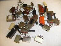 Lot of slide switches from closed CB Ham radio shop /  c2