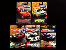 Hot Wheels Car Culture Race Day Set Of 5 Die-casts, Porsche Mazda RX3 Acura NSX
