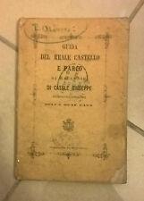 GUIDA DEL REALE CASTELLO E PARCO DI RACCONIGI 1873