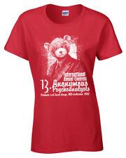 Anonymous Psychoanalysts Camiseta Mujer S-2XL Duro Drugs Asylum Desconexion Acid