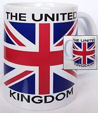 The United Kingdom Union Jack Flag Mug, 11oz mug dishwasher and microwave safe