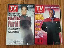 Lot of 12, 90s = 200 TV GUIDES-Star Trek