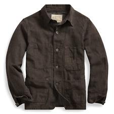 Double Ralph Lauren RRL Japanese Cotton Linen Twill Work Jacket Size M Kimura