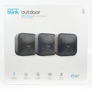 Brand New - Blink Outdoor (3rd Generation) Security Camera System - 3 Camera Kit