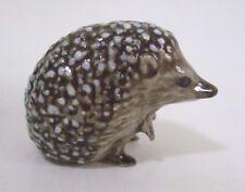 * High Quality Handmade Animal Miniature Ceramic Porcupine Figurine *
