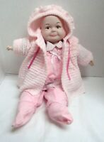 "VTG 3 FACE 21"" DOLL  HAPPY SLEEPING CRYING EXPRESSIONS BISQUE PORCELAIN"
