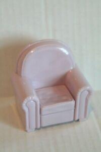 Dollhouse Miniature Light Purple Living Room Chair