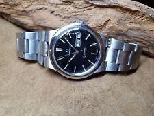 USATO 1972 OMEGA SEAMASTER Quadrante Nero DayDate CAL:1022 AUTO Man's Watch