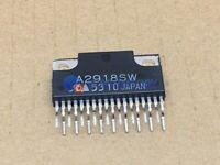 1PCS A2918SW Encapsulation:ZIP-18,DUAL FULL-BRIDGE PWM MOTOR DRIVER