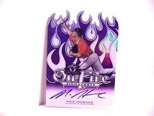Nick Howard 2014 Leaf Valiant Auto 02/10 On Fire Rookie Autograph FREE SHIP