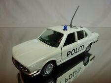GAMA 1149 BMW 528i E28 POLITI - POLICE - WHITE 1:43 - GOOD CONDITION