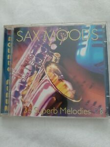 Various - Sax Moods 36 Superb Melodies by Various | 2 CDs | condition very good