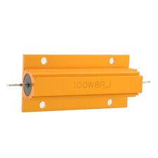 Golden Mini 8 Ohm 100W Watt Power Wirewound Resistor Metal Aluminum Shell Case