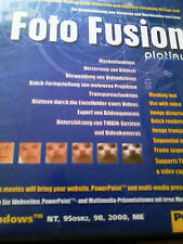 FOTO FUSION CD SOFTWARE