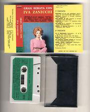 Mc Gran serata con IVA ZANICCHI - Variety 1977 Musicassetta Malgioglio
