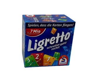 LIGRETTO Blau  Gesellschaftsspiel   Brettspiel   Schmidt Spiele   vollständig