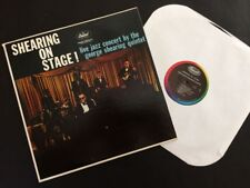 The George Shearing Quintet, Live On Stage/Claremont College, 1959, Ex. Cond.