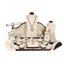 24 Piece Jewelry Necklace Bracelet Earring Ring Display Set Organizer Holder