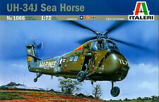 Italeri 1/72 1066 US Army UH-34J Sea Horse Military Helicopter Vietnam War 1965