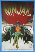 Ninjak #4 Cover B Dave Johnson ROKU Valiant Entertainment Comic Book 2015