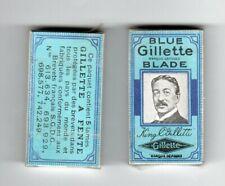 2 Paquets de 5 lames de rasoir - Blue GILLETTE Blade -