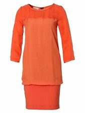 ORIGINAL HUGO BOSS ORANGE Kleid in orange, Gr.36/S NEU CHIC!