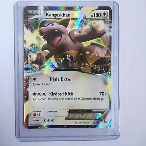 Kangaskhan EX Pokemon Card 78/106 Flashfire Excellent Condition (EX)