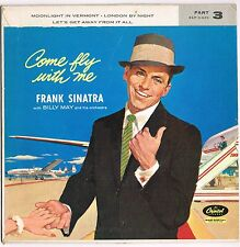 """FRANK SINATRA come fly with me PT3. 7"""" EP_1958 original  EAP 3-920"""