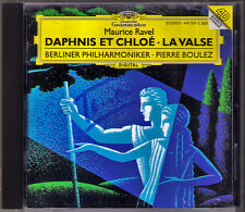 Pierre BOULEZ Signed RAVEL Daphnis et Chloe La Valse DG CD Berliner Philharmonic