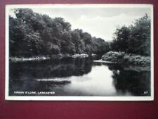 POSTCARD RP LANCASHIRE LANCASTER - CROOK O'LUNE C1955