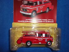 N° 65 CITROEN 46 CD HEULIEZ Camion Pompier FTP 12 Pompes Guinard 1/43 Neuf Boite