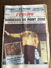 Journal l'Equipe - 14 Decembre 1990 - 45 eme année - n 13875