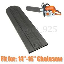 Plastic 14''-16'' Black Chainsaw Universal Accessories Guide Plate Set Bar Cover