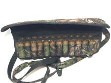 Waterproof Shotgun Shell Cartridge Belt Holder Pouch - Holds 24 shells 12 ga