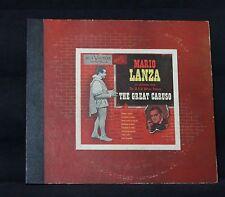 RCA VICTOR RED LABEL MARIO LANZA THE GREAT CARUSO