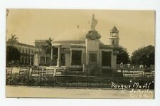 CUBA, Avilla. 'MARTI' PARQUE. Real Photo Postcard