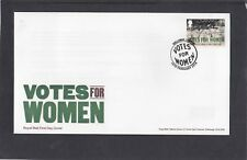GB 2018 Votes For Women single 1st stamp FDC Holloway London special pmk