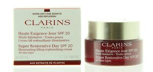 Clarins Super Restorative Day Cream SPF20 All Skin Types 50ml - Illuminating Lif