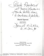 Daniel Spoerri - Palettes d'Artistes - 1989 - dédicacé et signé par Spoerri !!!!