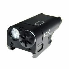 Black Tactical Ultra-Compact LED Handgun Weapon Pistol Light XC1 Mini Flashlight