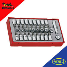 TTTX30 - Teng Tools - 3/8 Inch Drive TX/TPX/TXE Socket Set
