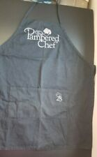 Pampered Chef 25th Anniversary Apron Black Silver Demo Use Only Euc Rare Htf