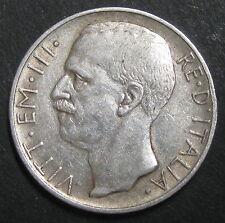 ITALIE - 10 LIRE 1927 R - VITTORIO EMANUELE III - Argent - N°2