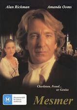 DVD Mesmer (1994)  Alan Rickman, Amanda Ooms, Roger Spottiswoode dir